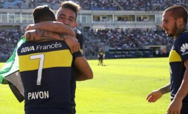 Boca venció a San Martín de San Juan y es el único líder del campeonato