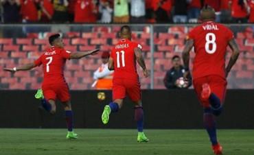 Chile venció a Venezuela y se metió en la clasificación directa al Mundial