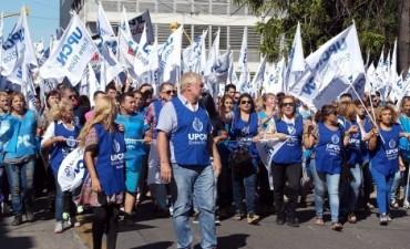 Marcha de Upcn: Allende amenaza a Bordet como lo hizo con Urribarri
