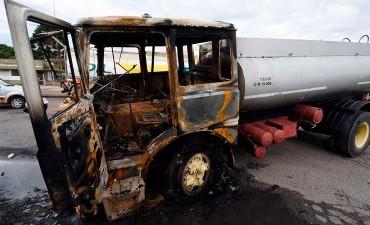 El conductor de camión que mató a manifestante en un piquete iba alcoholizado