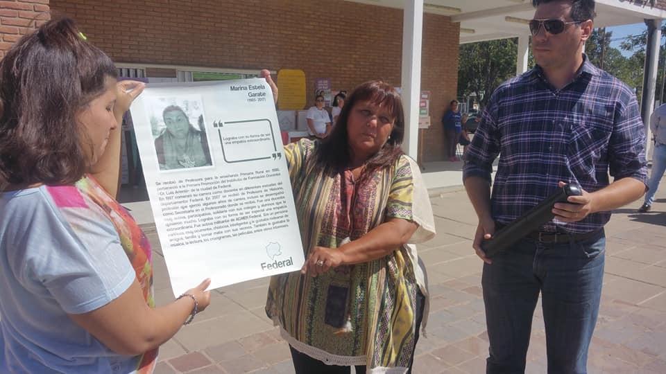 El CGE rindió homenaje a mujeres educadoras entrerrianas
