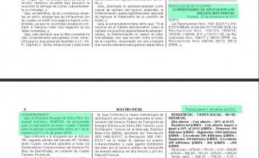 El tarifazo de luz en Entre Ríos se aplicó basado en una resolución sin vigencia