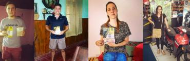 La Canaria y el Club Ateneo continúan entregando premios