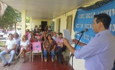 En Loma Limpia se inauguro el año lectivo 2018