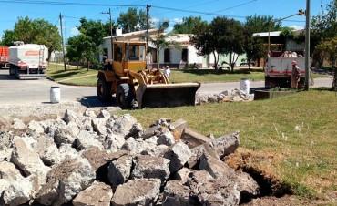 Avanzan obras de infraestructura urbana en localidades de Entre Ríos