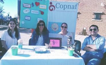 El Copnaf Federal participo de la feria institucional por el Día de la Mujer