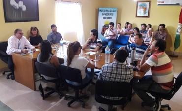 Apertura de sesiones ordinarias en C.Bernardi