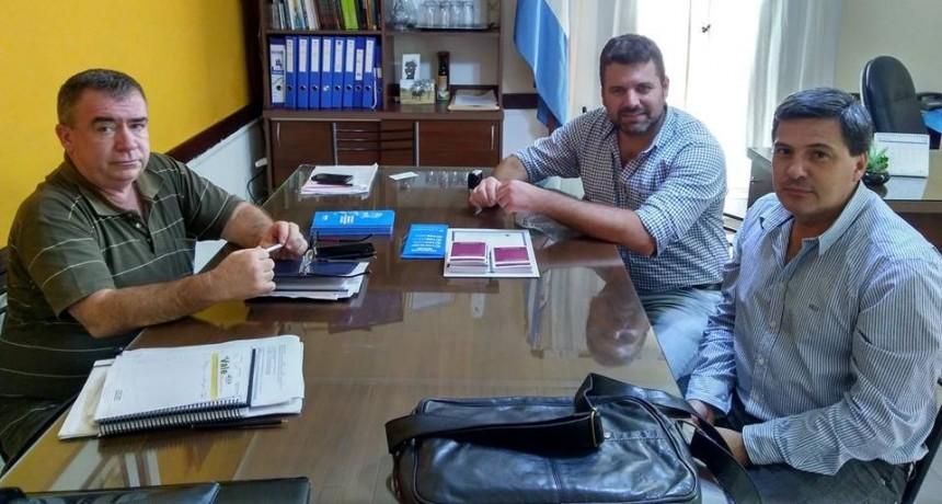 Visita del Delegado en Entre Ríos de la Secretaria de Derechos Humanos y Pluralismo Cultural