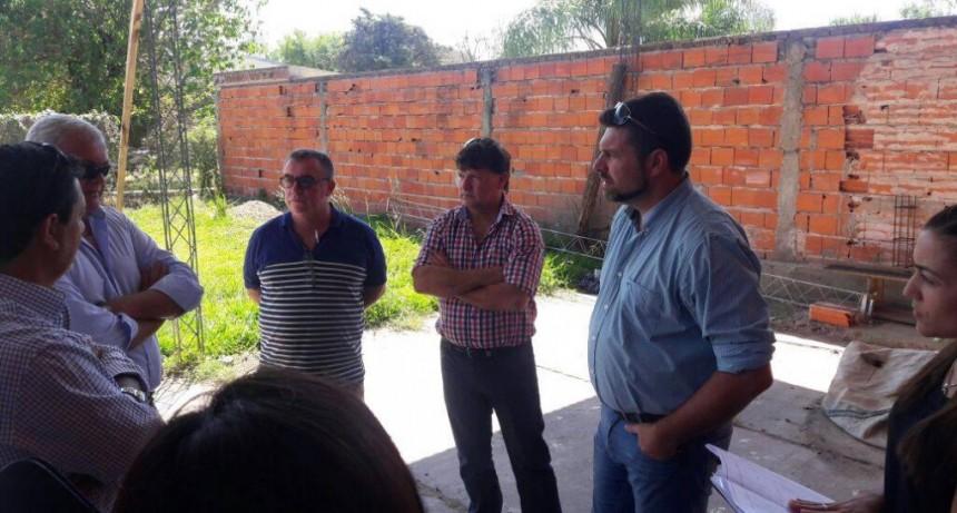 El Intendente se reunió con miembros de Maiper