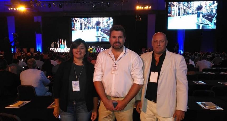 CHAPINO, ROMERO Y FARACH PARTICIPAN DE UN SEMINARIO INTERNACIONAL DE CENTROS COMERCIALES ABIERTOS EN ROSARIO