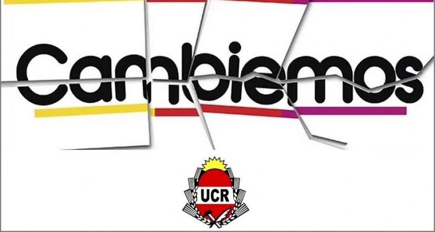 """La UCR formalizó """"el quiebre"""" de los bloques de Cambiemos y advirtió sanciones a quienes no lo acaten"""