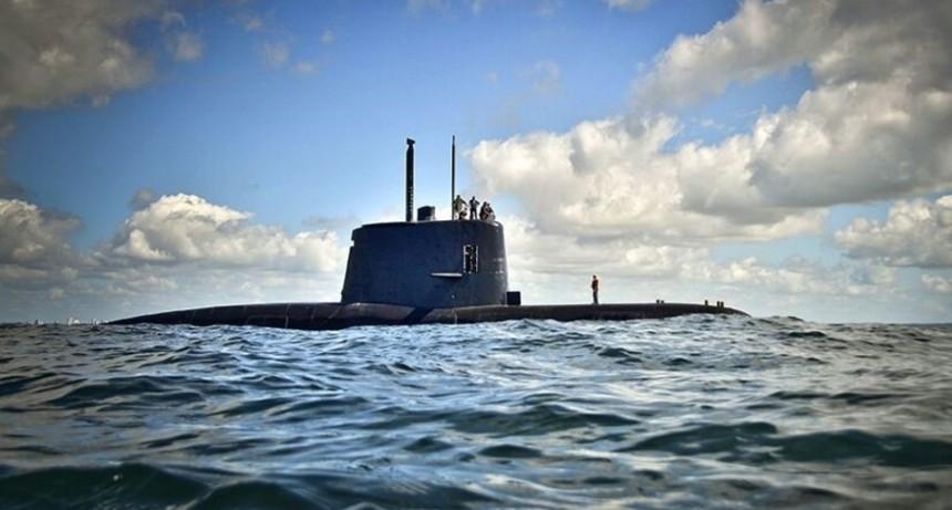 El ARA San Juan participó de una misión con toda la flota de la Armada