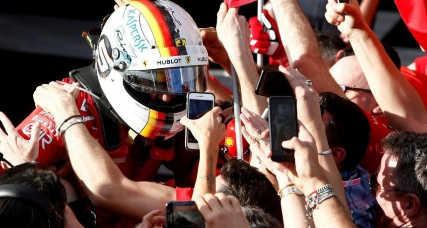 Fórmula 1: un acierto en la estrategia le dio el triunfo a Sebastian Vettel