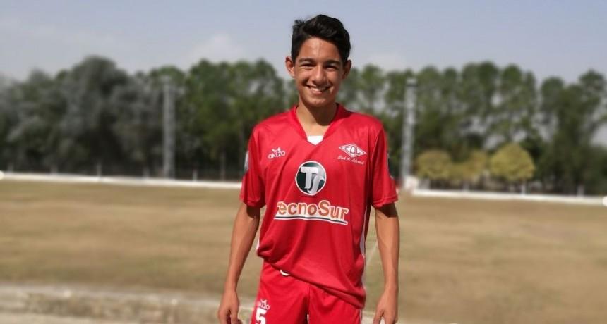 Joven federalense apuesta al fútbol grande en Córdoba