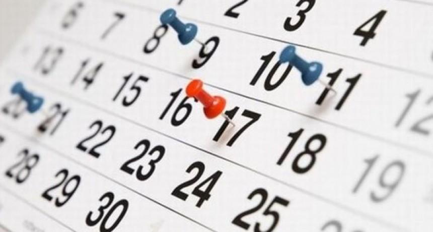 A fin de abril se viene otro fin de semana extralargo