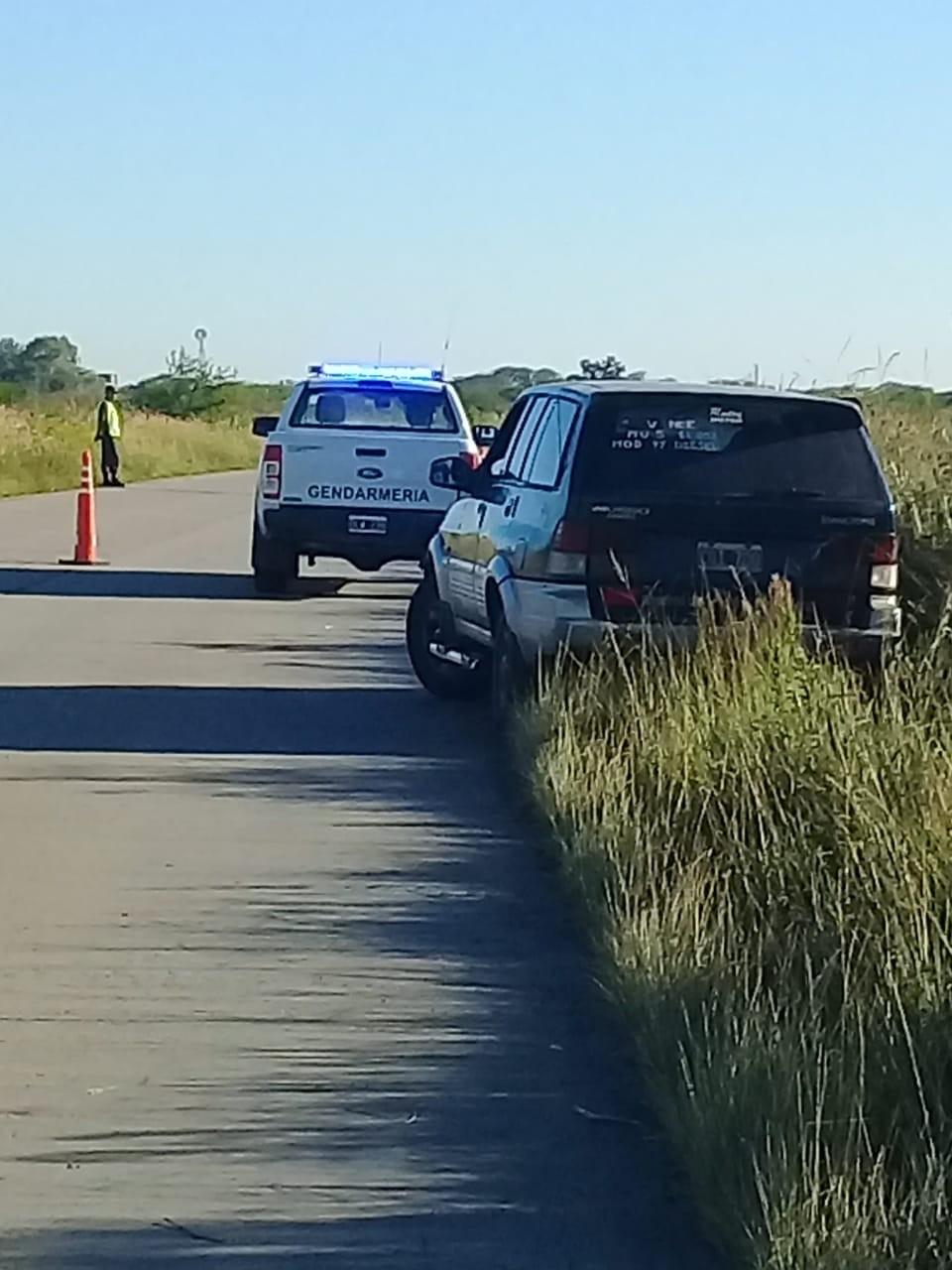 Accidente sin lesionados en Ruta Nacional 127