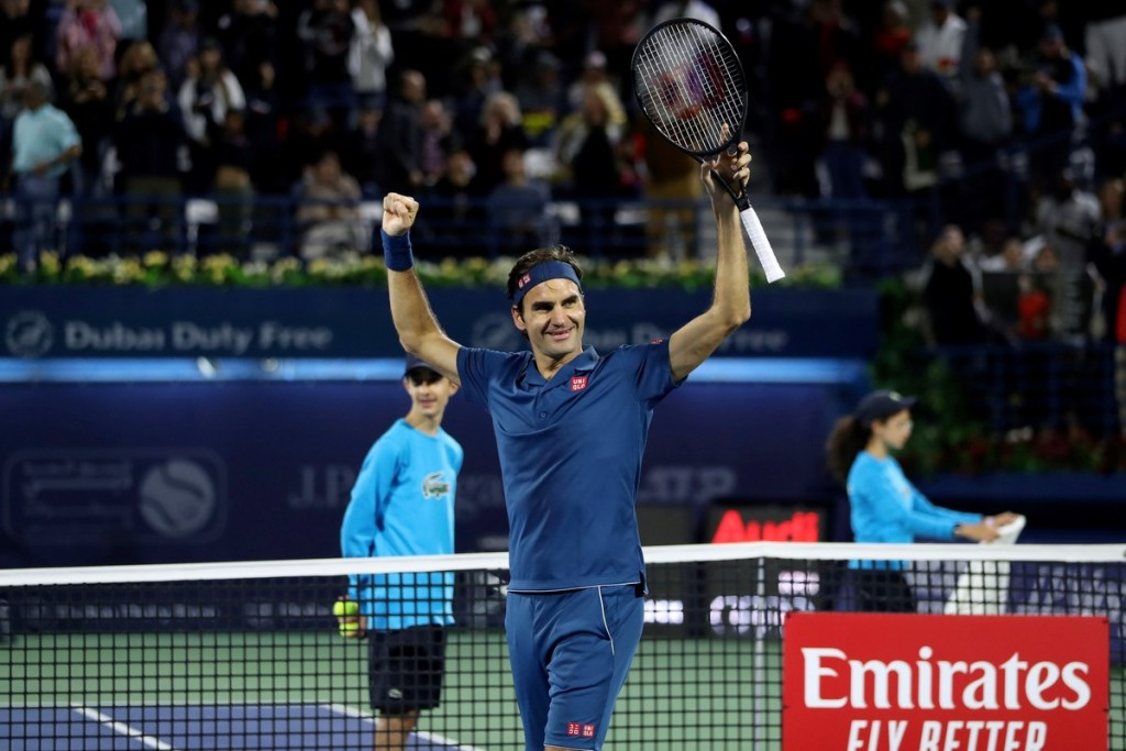 Roger Federer, histórico: fue campeón en Dubai y llegó al título 100 de su carrera