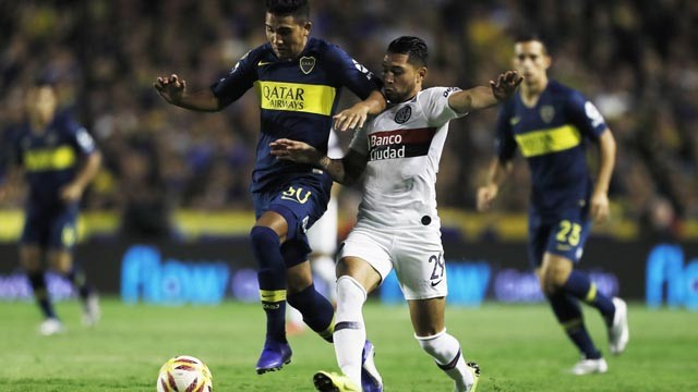 Boca goleó a San Lorenzo en La Bombonera