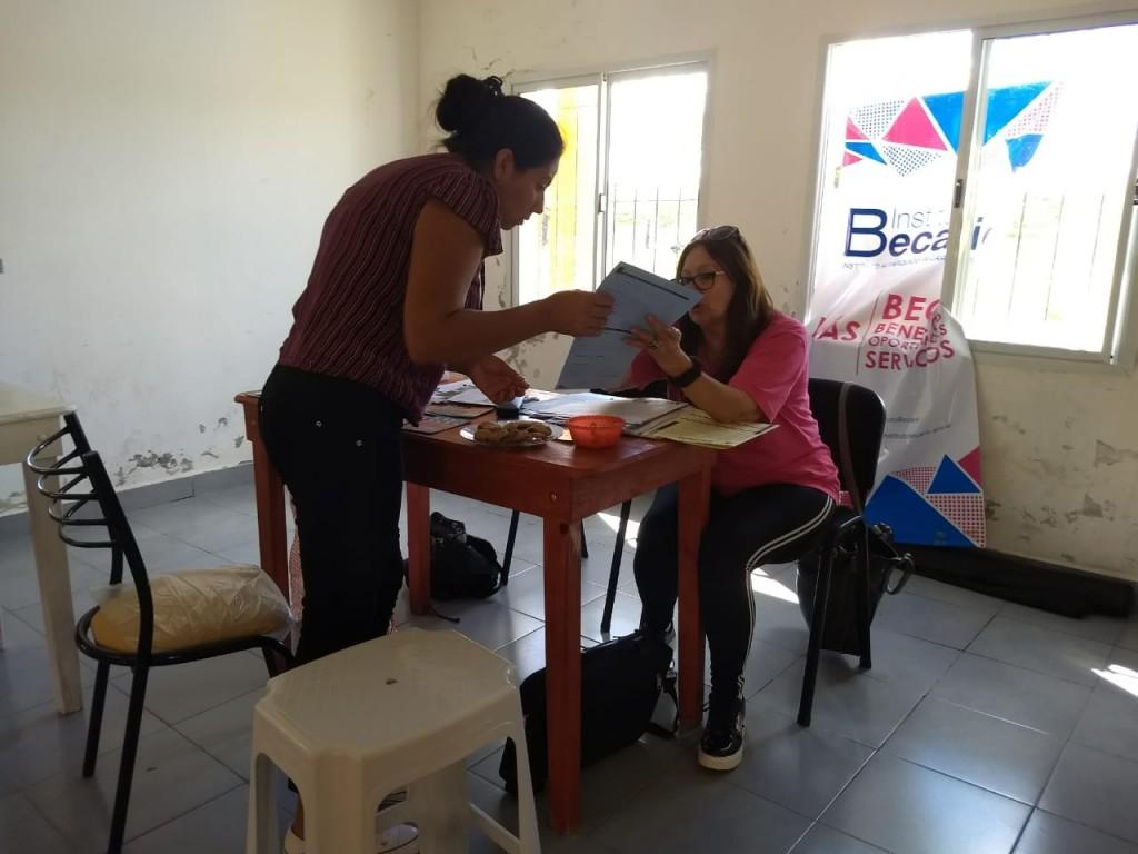 Abordaje Territorial del Ministerio de Desarrollo Social de la Provincia de Entre Ríos en C. Bernardi