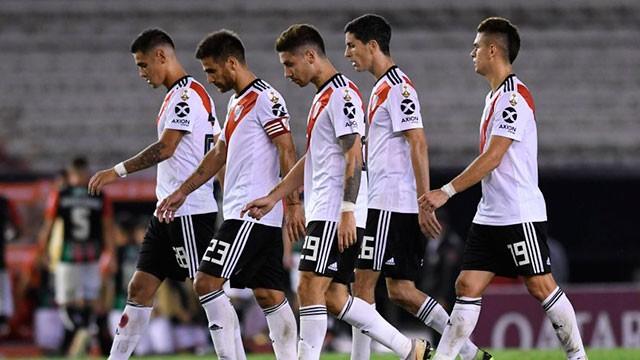 En un Monumental sin público, River empató con Palestino por la Copa Libertadores
