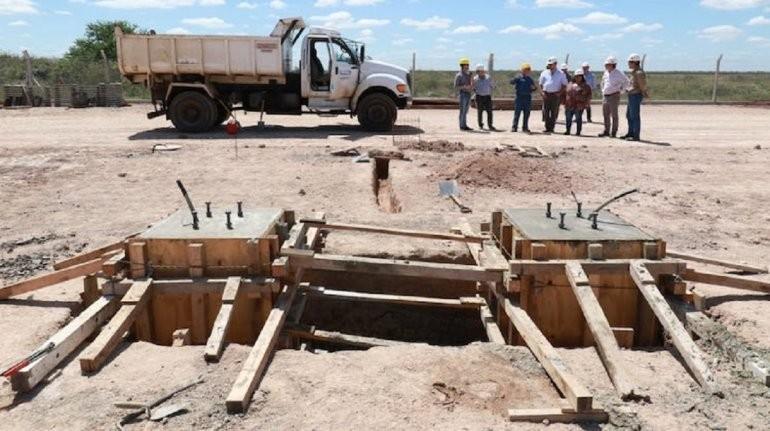 Avanzan las obras de la línea en 132 kV Federal-Los Conquistadores