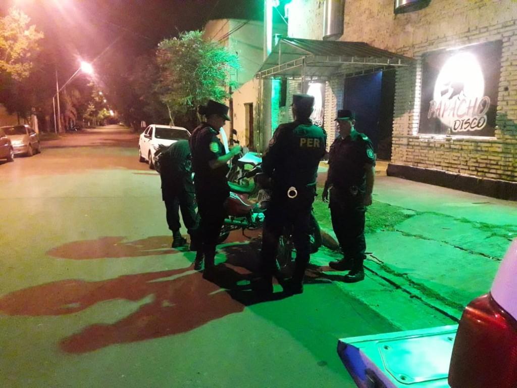 Operativos policiales del fin de semana
