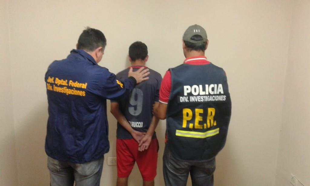 ROBO FINALIZA CON UN DETENIDO Y SECUESTROS DE ELEMENTOS ROBADO