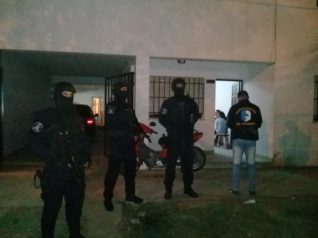 Personal policial de Federal intervino en operativos de narcotrafico