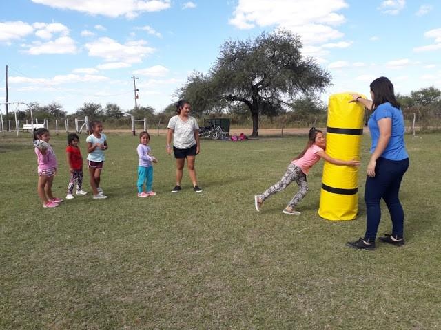 Actividades de la Escuela Municipal de Rugby