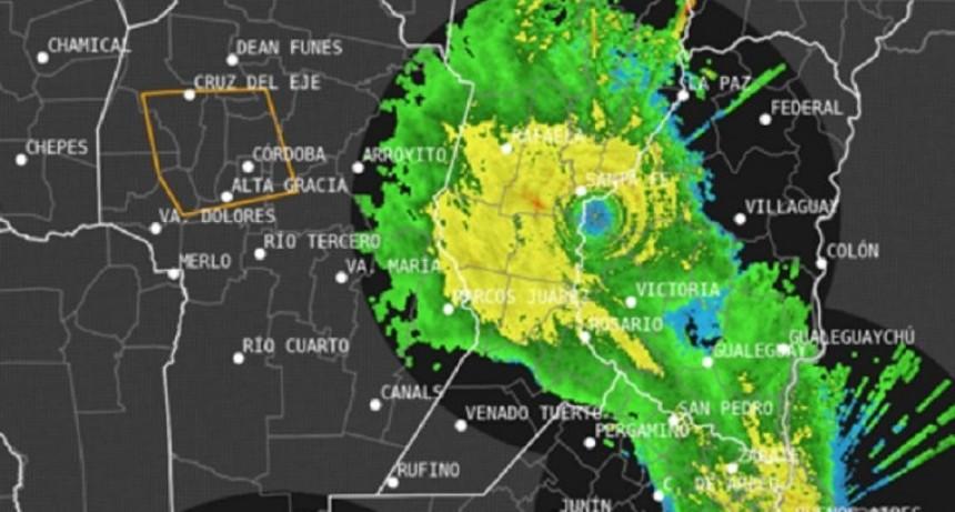 Llueve en Entre Ríos: renovaron alerta por tormentas intensas