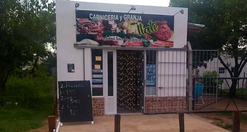 Recuperan elementos sustraídos en Carnicería Itati