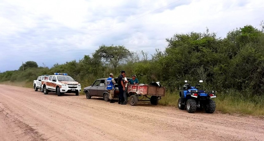 Tres detenidos por robo de ganado