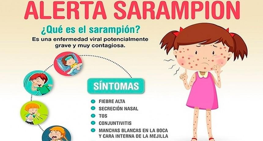 UNICEF advierte sobre un masivo brote de sarampión