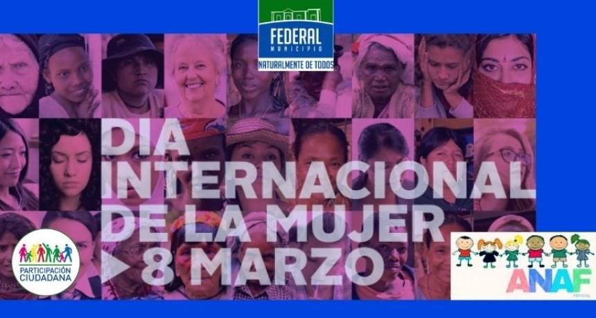 """INVITACIÓN POR EL """"DÍA INTERNACIONAL DE LA MUJER"""""""