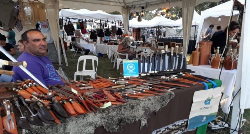Artesanos federalenses expusieron en la Fiesta Nacional de la Vendimia