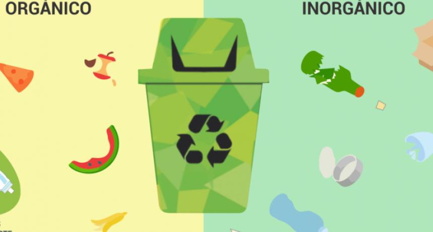 Notificación a vecinos sobre la separación de residuos