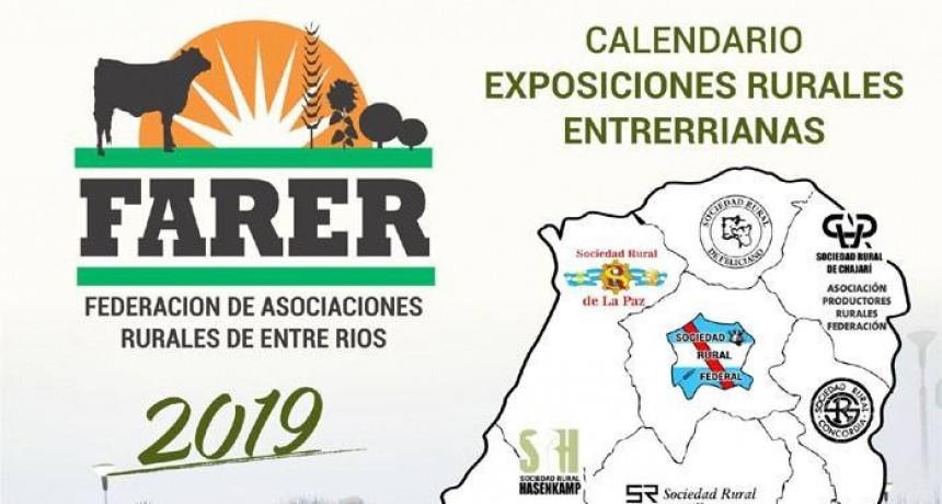 Las exposiciones rurales ya tienen fecha:- FEDERAL | 16, 17 y 18 de Agosto