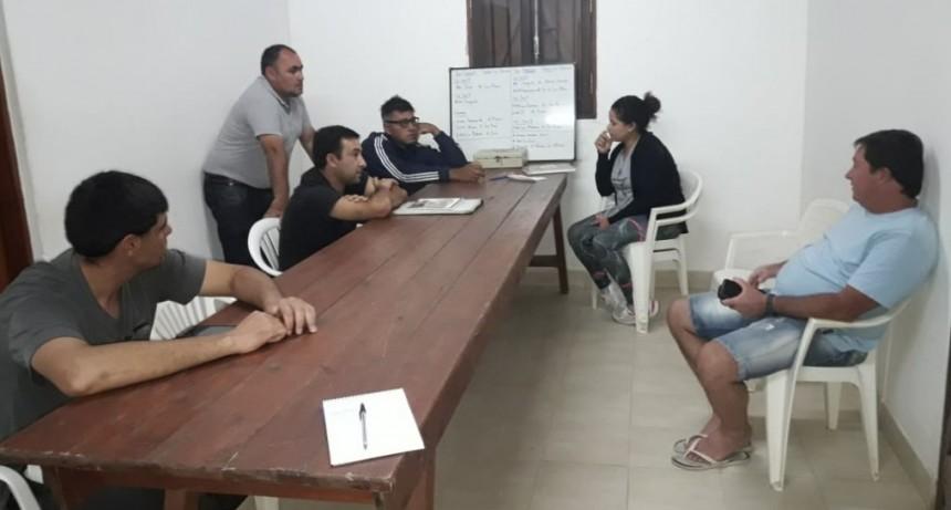 Primera reunión del año para el Departamento Infanto - Juvenil  de la Liga Federalense de Fútbol