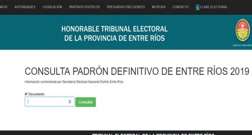Ya se puede consultar el lugar de votación para las próximas elecciones