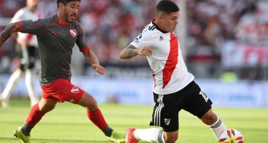 River vapuleó a Independiente y dio un paso clave hacia la Libertadores 2020
