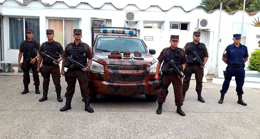 Puesta en funcionamiento de móvil para la Guardia Especial
