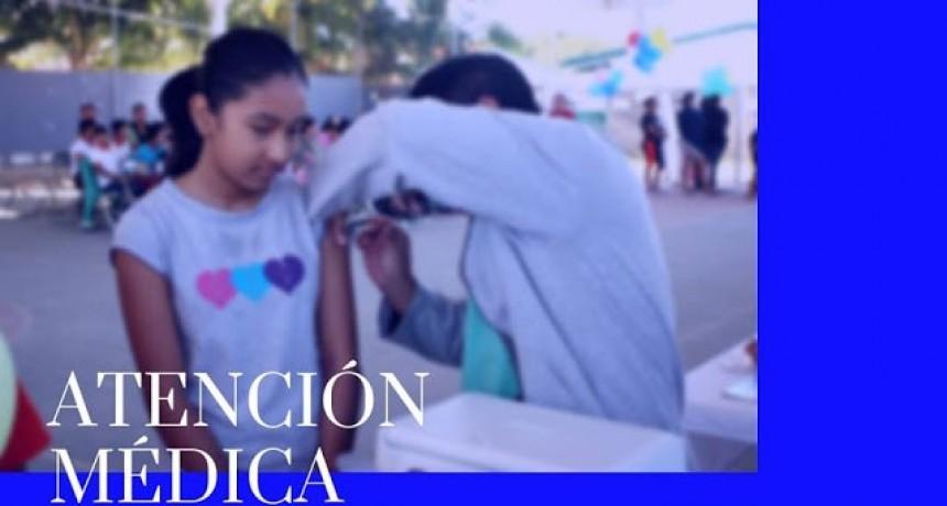 ATENCIÓN MÉDICA GRATUITA EN COLONIA FEDERAL Y LAS DELICIAS