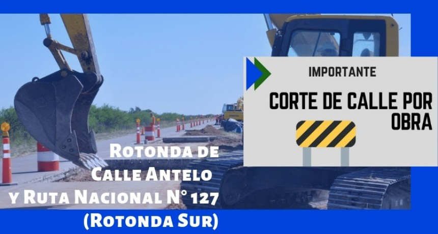 CORTE DE TRÁNSITO EN LA ROTONDA SUR