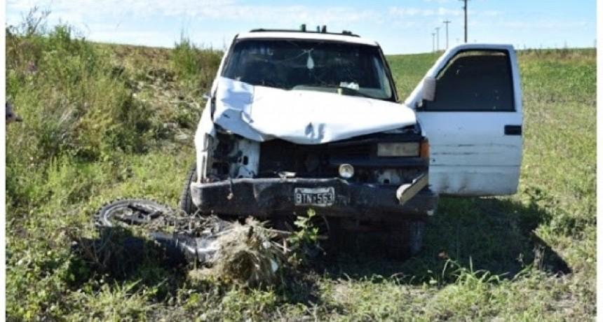 Fatal accidente de transito  en Federal