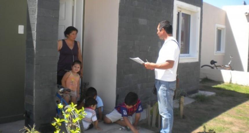 Entrevistas sociales para el Promeba IV en Barrio El Silbido , 25 de Mayo e Itati