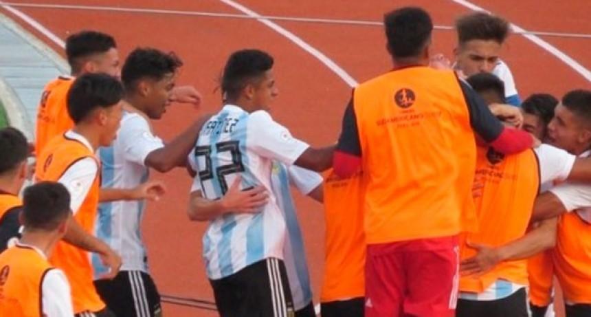 La Selección de Aimar consiguió su primer triunfo en el Sudamericano Sub 17