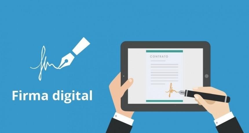 La Caja de Jubilaciones implementa la firma digital