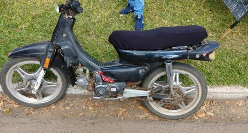 Retienen motos por falta de documentación
