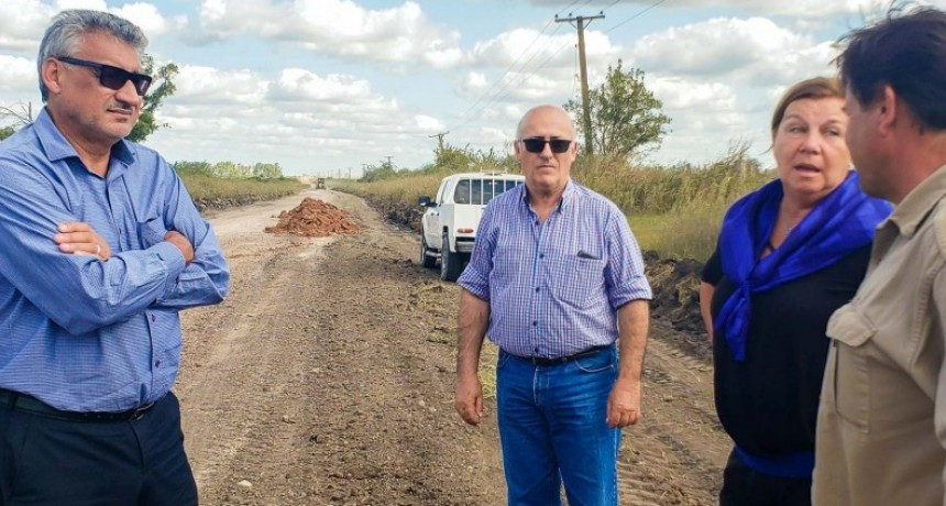 La provincia avanza con la consolidación de la ruta 20, entre los departamento Villaguay y Federal