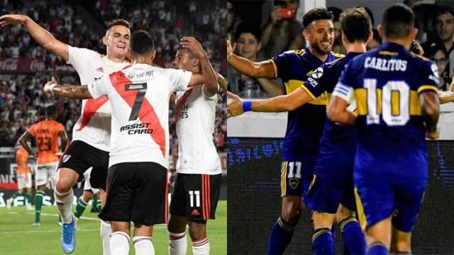 Las posibilidades de River y Boca para consagrarse campeón de la Superliga